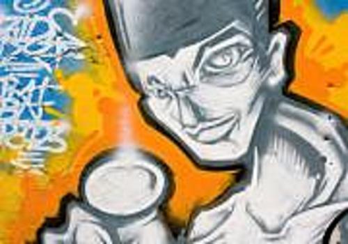Telecharger Fonds Ecran Graffiti 1024