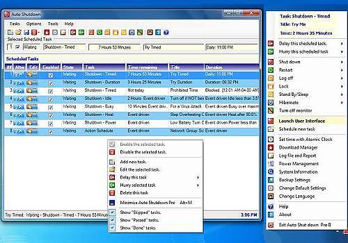 Telecharger Auto Shutdown Pro II 4.5.0.0