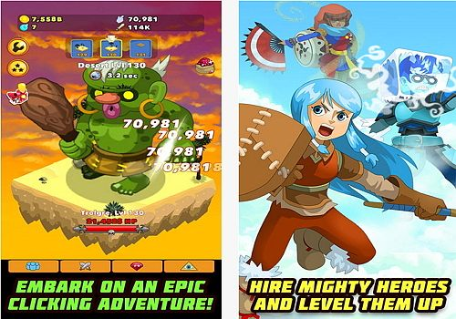 Telecharger Clicker Heroes Android