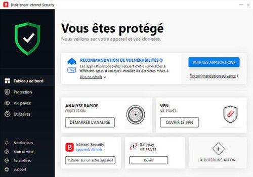 Telecharger Bitdefender Internet Security 2019