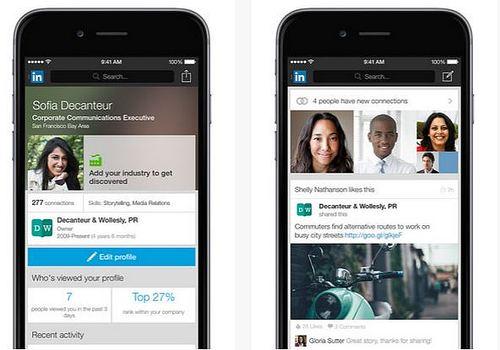 Telecharger LinkedIn iOS