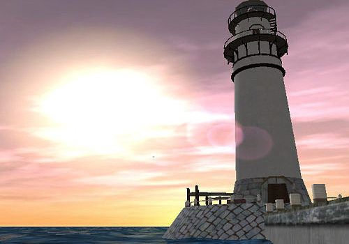 Telecharger Lighthouse 3D screensaver