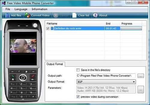 Telecharger Free 3GP Converter