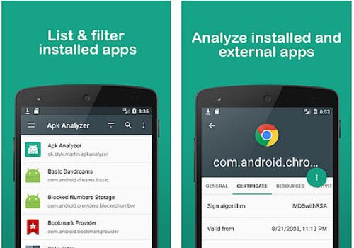 Telecharger APK Analyzer Android