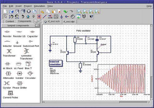 Telecharger Quite Universal Circuit Simulator