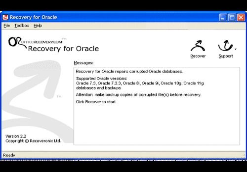 Telecharger Recovery for Oracle
