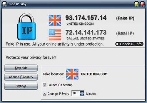 Telecharger Hide IP Easy