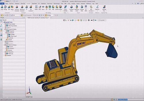 Telecharger ZW3D 2019 - CAD/CAM