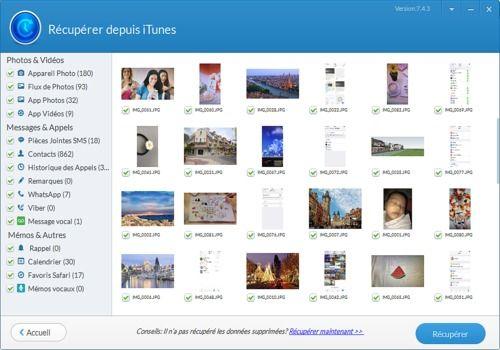 Telecharger Jihosoft iTunes Backup Extractor