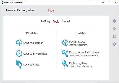 Telecharger Elcomsoft Phone Breaker 8.31.27924