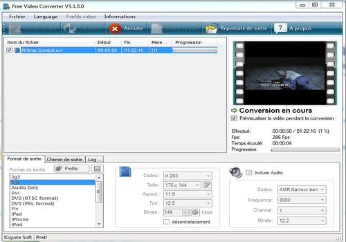 Telecharger Free Video Converter