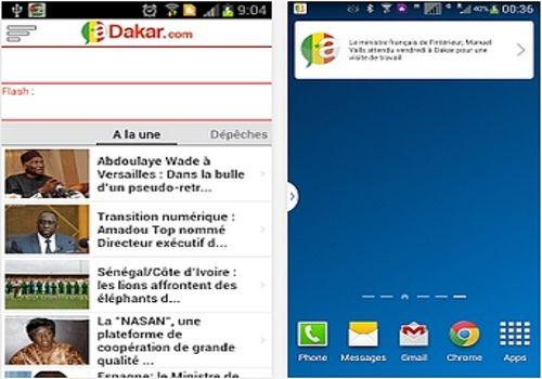 Telecharger aDakar.com Android