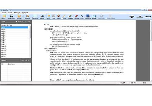 Telecharger Modifier PDF