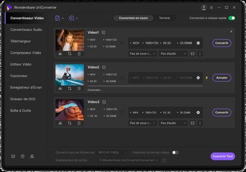 Telecharger Wondershare UniConverter pour Mac 2021