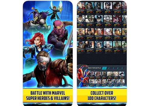 Telecharger MARVEL Battle Lines Android