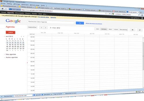 Telecharger Google agenda