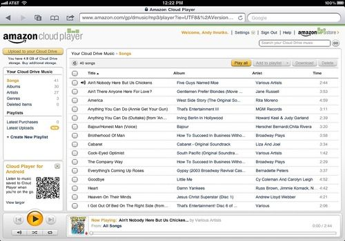 Telecharger Amazon Cloud Player