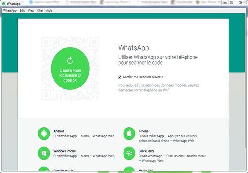 Telecharger WhatsApp pour Windows