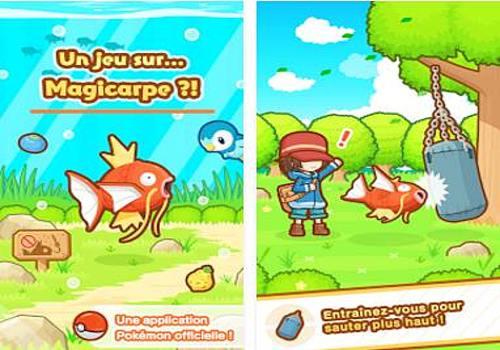 Telecharger Pokemon: Magicarpe Jump Android