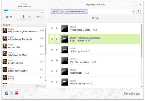Telecharger Freemake Music Box