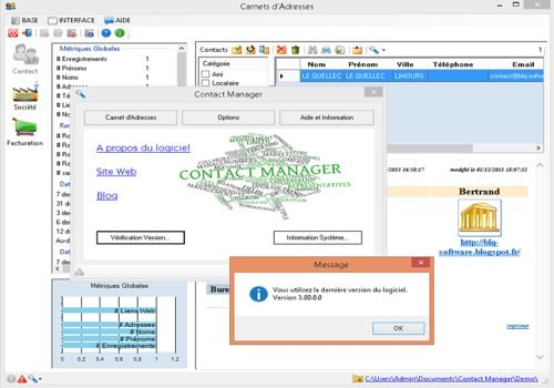Telecharger Contact Manager free