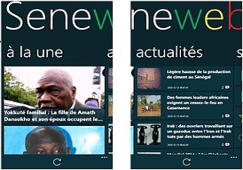 Telecharger Seneweb Windows Phone