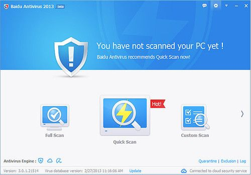Telecharger Baidu Antivirus 2013