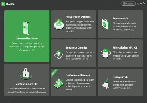 Telecharger DroidKit(Windows)