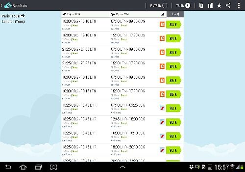 Telecharger Skyscanner Android