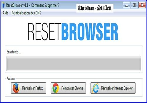 Telecharger ResetBrowser