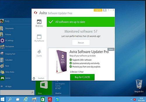 Telecharger Avira Software Updater Free