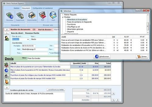 Telecharger Devis Facture Express