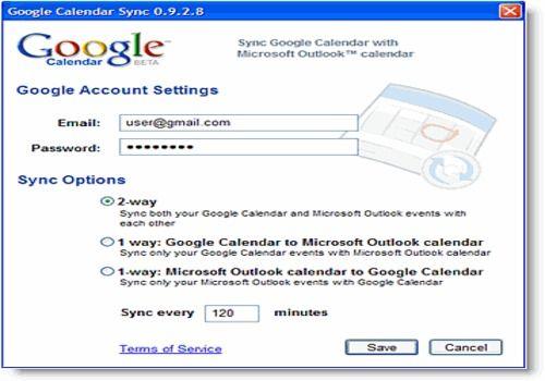 Telecharger Google Calendar sync