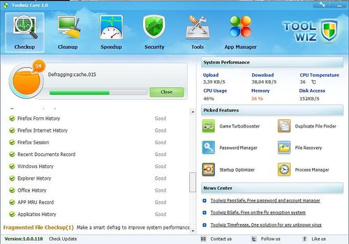 Telecharger Toolwiz Care