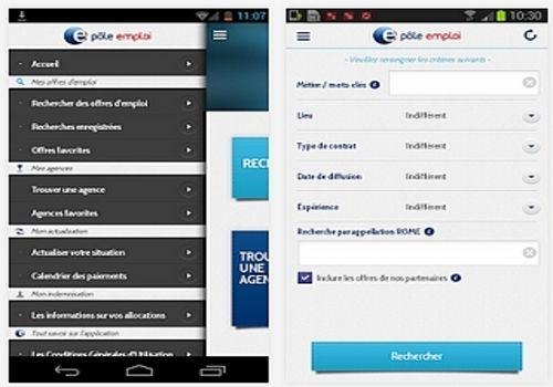 Telecharger Pôle emploi Android