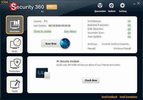 Telecharger IObit Security 360