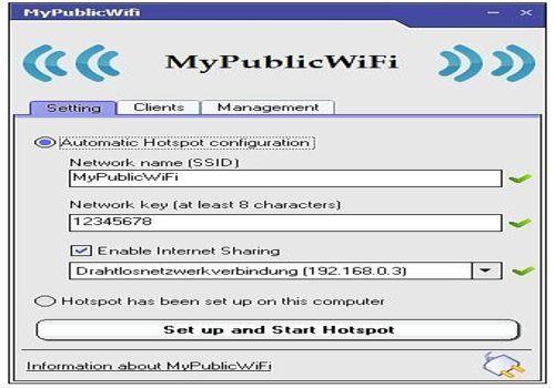 Telecharger MyPublicWifi