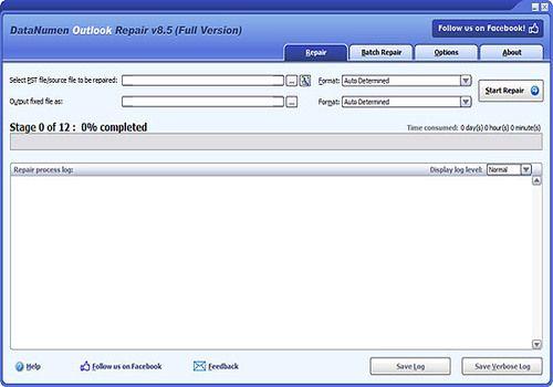 Telecharger DataNumen Outlook Repair