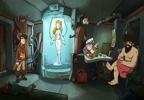 Telecharger Goodbye Deponia démo jouable (2013)