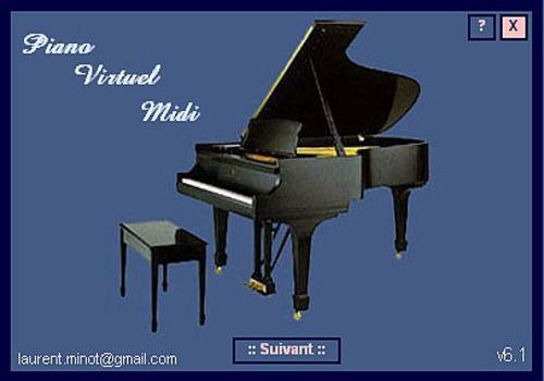 Telecharger Piano virtuel Midi