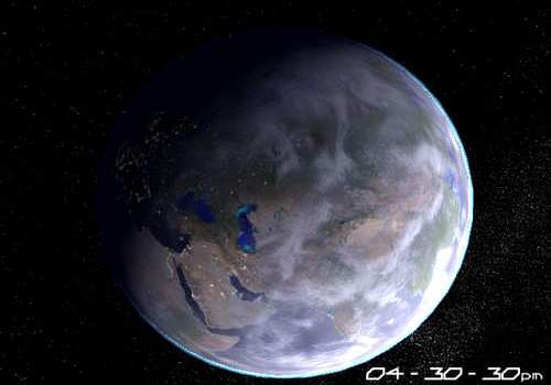 Telecharger Planet Earth 3D Screensaver
